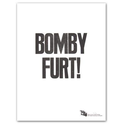 Bomby furt! - Pressink / grafika