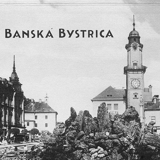 Banská Bystrica - zápisník čisté strany, A5 / Chytrô