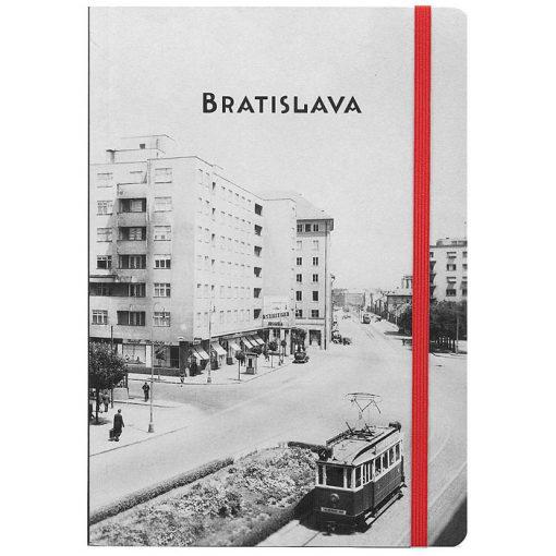 Bratislava Avion - zápisník čisté strany, A5 / Chytrô