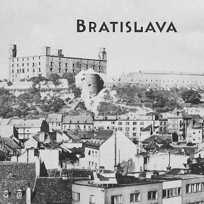 Bratislava Hrad - zápisník čisté strany, A5 / Chytrô