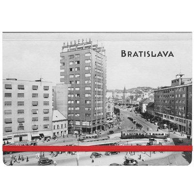 Bratislava Manderlák - zápisník čisté strany, A5 / Chytrô
