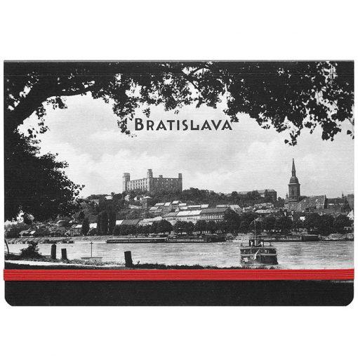 Bratislava Propelér - zápisník čisté strany, A5 / Chytrô