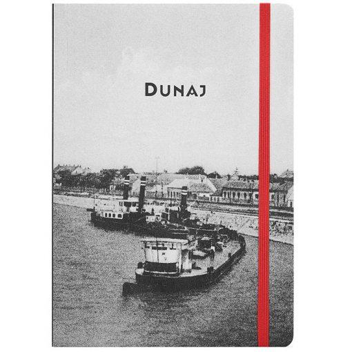 Komárn Dunaj - zápisník čisté strany, A5 / Chytrô