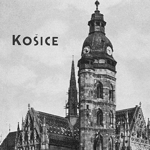 Košice - zápisník čisté strany, A5 / Chytrô