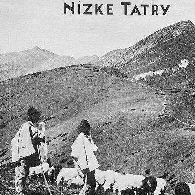 Nízke Tatry Ovce - zápisník čisté strany, A5 / Chytrô