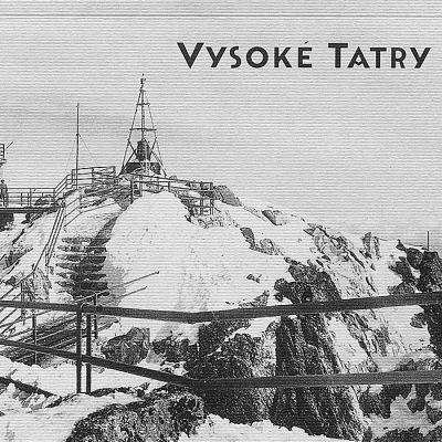 Vysoké Tatry Lomnický štít - zápisník čisté strany, A5 / Chytrô