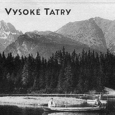 Vysoké Tatry Štrbské pleso - zápisník čisté strany, A5 / Chytrô