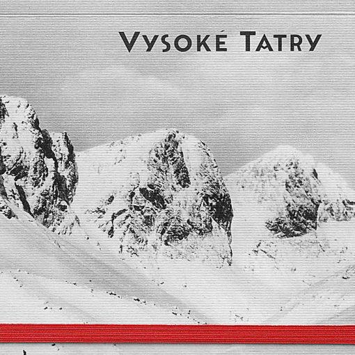 Vysoké Tatry Zbojnícka chata - zápisník čisté strany, A5 / Chytrô