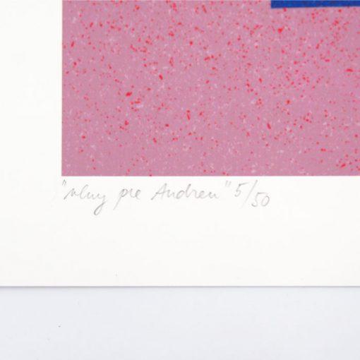 Vlna pre Andreu - Han, A4 / giclée grafika
