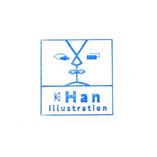 Han, A4 / giclée grafika