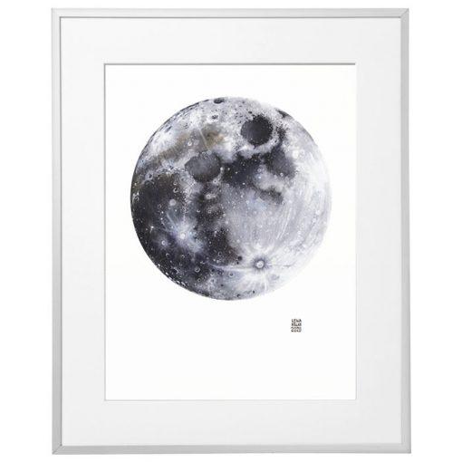 Lena Kollar - Mesiac, 30x40 / giclée grafika