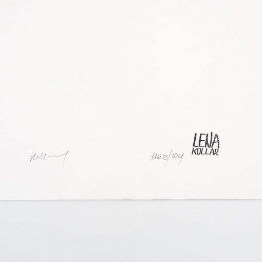 Lena Kollar - Pluto, A4 / giclée grafika