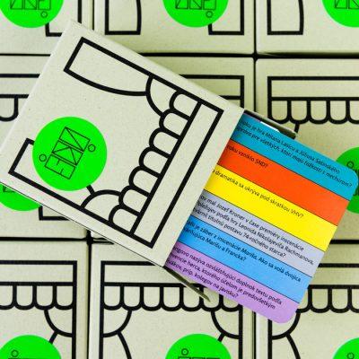 Spoločenská hra v iks dejstvách - verzia A, otázky 1-100 / kartová hra
