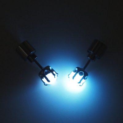 Mesačný kameň – Firefly / svetelné náušnice