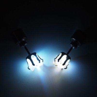 Opál – Firefly / svetelné náušnice