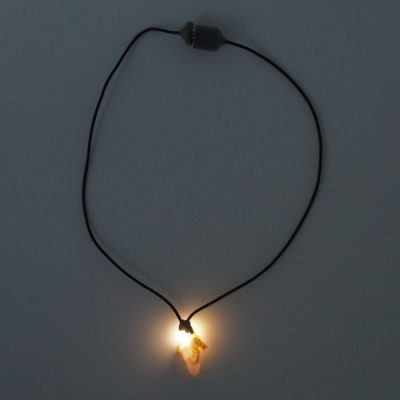 Slovenský ametyst - Firefly / svetelný prívesok