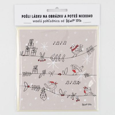 Vianočné vtáčiky - Hento Toto / darčeková karta