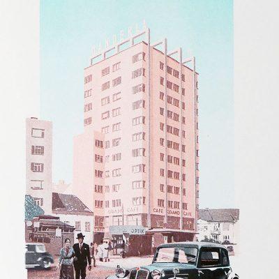 Bratislava 1936: Manderla - Ján Herc / risografika