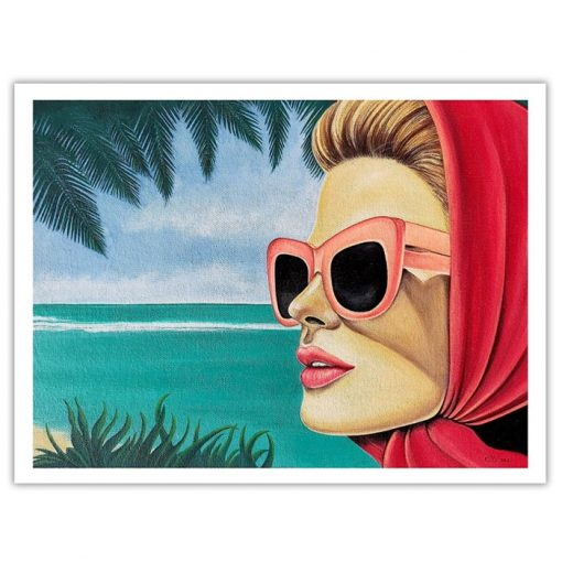 Summer holiday - Katarína Branišová, A4 / grafika
