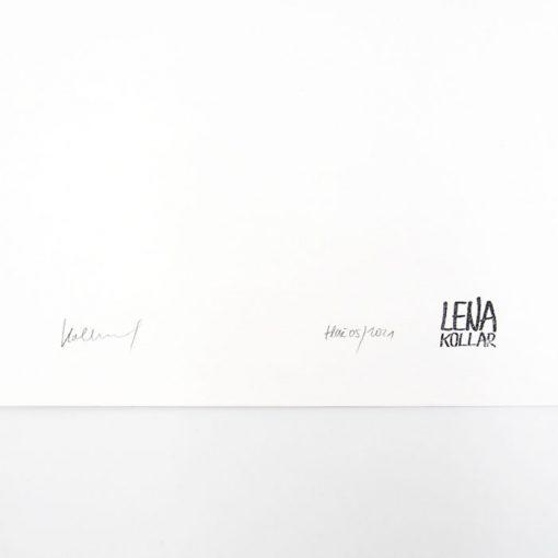 Lena Kollar - Vysoká pec Huta Etelka v Nižnej Slanej, A4 / giclée grafika
