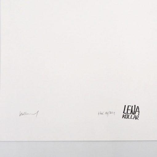 Lena Kollar - Múzeum SNP Banská Bystrica, A4 / giclée grafika