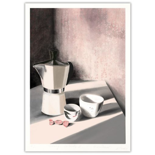 Morning rituals II. - Petra Kováčová / grafika