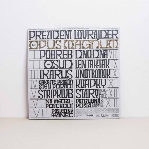 Prezident Lourajder - Opus Magnum / vinyl LP