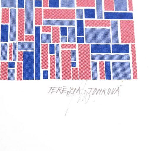 železničná stanica Svit - Terézia Tomková / risografika