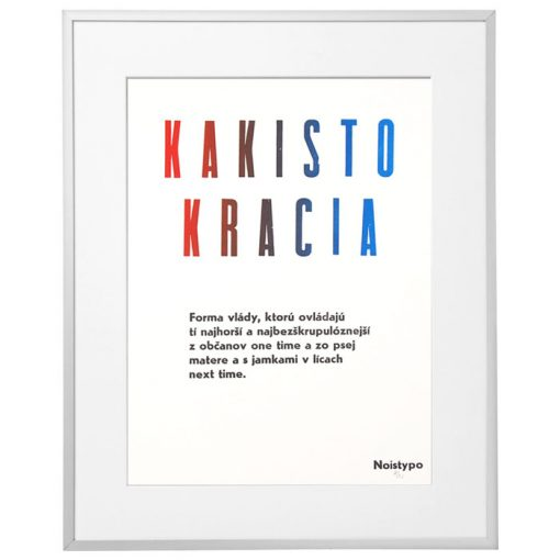 Kakistokracia #1 - Noistypo / grafika