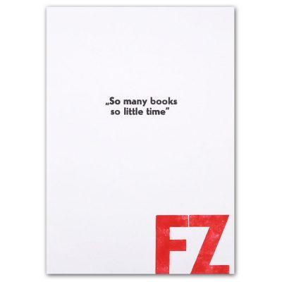 So many books, so little time - Noistypo / grafika