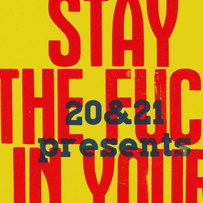 Stay the f*ck in your bubble! - Noistypo / grafika