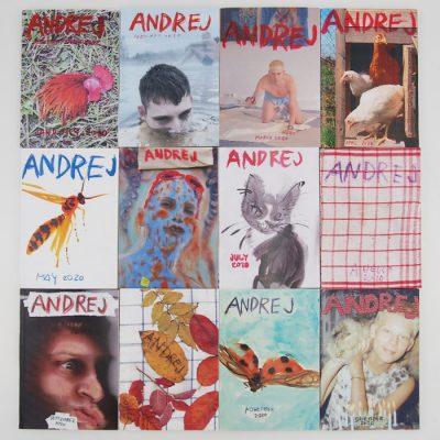 Andrej 2020 - Zine by Andrej Dúbravský / zin