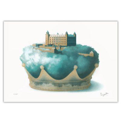 Bratislavský hrad - Marek Barjak/ risografika