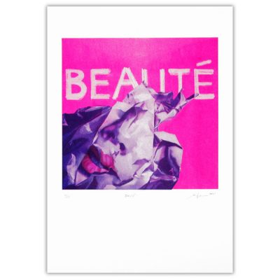 Beauté - Martina Rötlingová / risografika