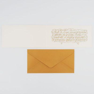 K meninám - Platform AT / kaligrafická darčeková karta
