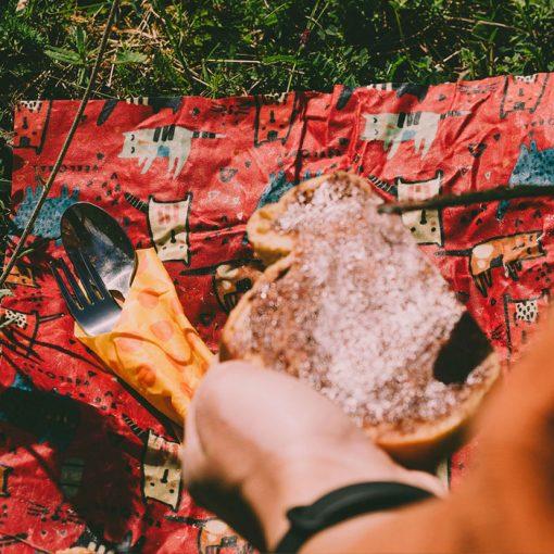 Včelobal Zvieratká L, 34 x 37 cm / obal na potraviny