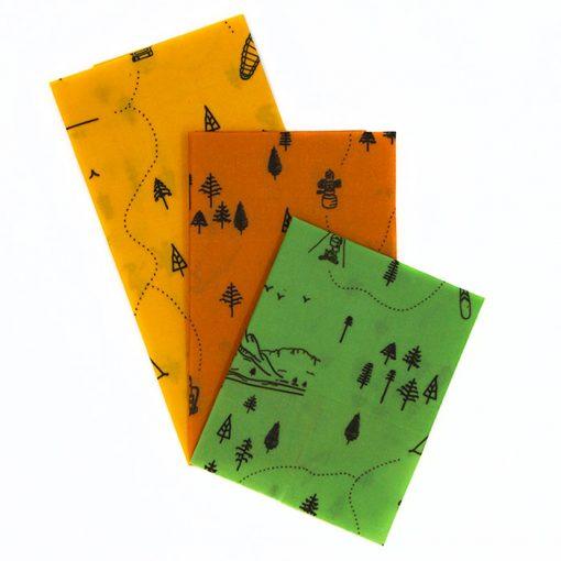 Včelobal Turista S,M,L pack / obaly na potraviny 3ks