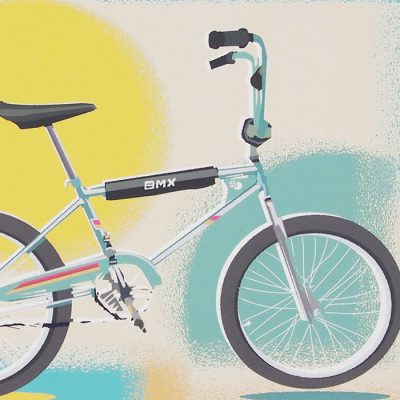 BMX - Jan Michoin / grafika