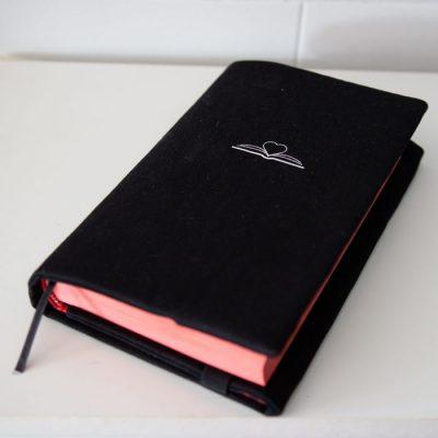 OBjAL - Knihy sú láska / látkový obal na knihy