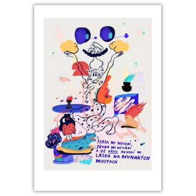 PARAgrafika Ové Pictures / fine art grafika 33 x 48 cm.