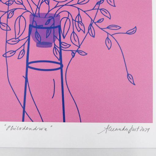 Philadendron - Alexandra Just / grafika