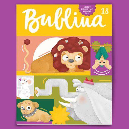 Bublina 18 časopis pre deti