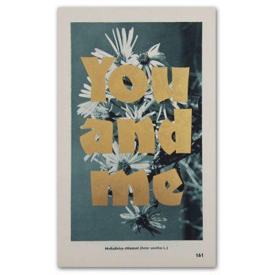 You and me - Pressink, Hvězdice chlumní / letterpressová grafika