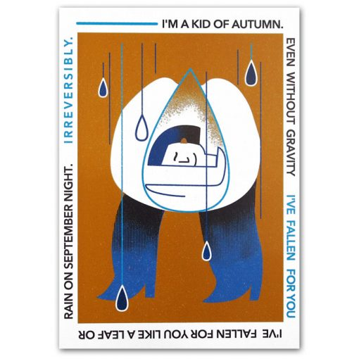 Kid of autumn - Han / pohľadnica